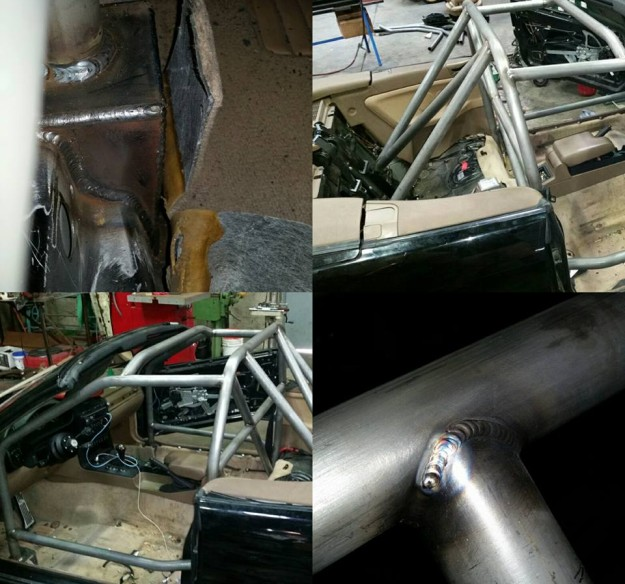 BMW E36 Roll Cage Install