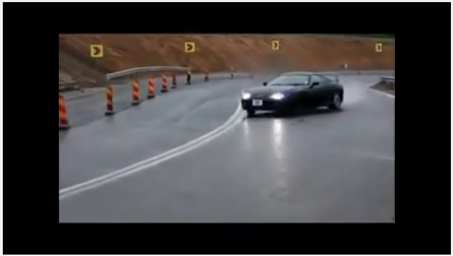 Toyota Supra 1 Mile Drift